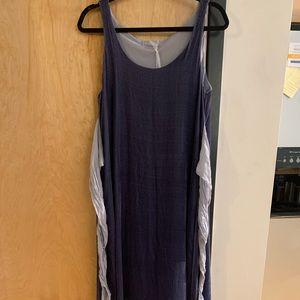 CP Shade Blue Velvet Dress- BEAUTIFUL-Size S